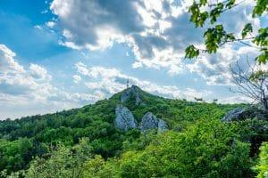 Pogled na planinu Kalnik kod Križevaca